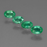 thumb image of 1.7ct Oval Facet Green Emerald (ID: 410088)