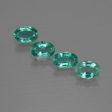 thumb image of 1.8ct Oval Facet Green Emerald (ID: 412066)