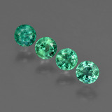 thumb image of 0.7ct Round Facet Green Emerald (ID: 412259)