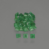 thumb image of 1.6ct Square Facet Green Emerald (ID: 413819)