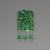 thumb image of 1.3ct Square Facet Green Emerald (ID: 413826)