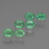 thumb image of 1.2ct Oval Facet Green Emerald (ID: 429094)