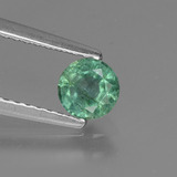 thumb image of 0.4ct Round Facet Green Emerald (ID: 429134)