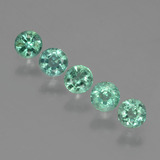 thumb image of 0.5ct Round Facet Green Emerald (ID: 429526)