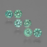 thumb image of 0.7ct Round Facet Green Emerald (ID: 429527)