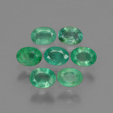 thumb image of 1.2ct Oval Facet Green Emerald (ID: 429606)