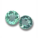 thumb image of 0.5ct Round Facet Green Emerald (ID: 458812)