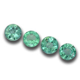 thumb image of 0.6ct Round Facet Green Emerald (ID: 458834)