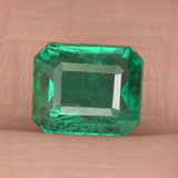 thumb image of 1.6ct Octagon Step Cut Green Emerald (ID: 459480)