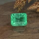 thumb image of 0.8ct Octagon Step Cut Green Emerald (ID: 499293)
