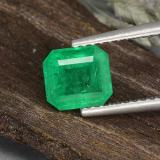 thumb image of 1.1ct Octagon Step Cut Green Emerald (ID: 499368)