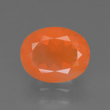 thumb image of 2.6ct Oval Facet Orange Fire Opal (ID: 370405)