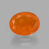 thumb image of 2.2ct Oval Facet Orange Fire Opal (ID: 405194)