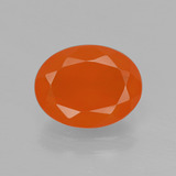 thumb image of 1.7ct Oval Facet Orange Fire Opal (ID: 405198)