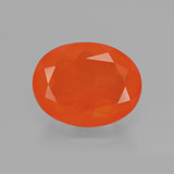thumb image of 1.8ct Oval Facet Orange Fire Opal (ID: 405200)