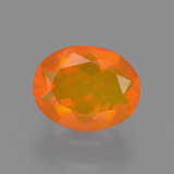 thumb image of 1.5ct Oval Facet Orange Fire Opal (ID: 405419)