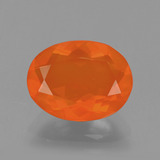 thumb image of 1.5ct Oval Facet Orange Fire Opal (ID: 405525)