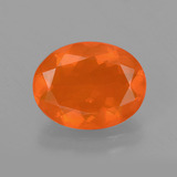 thumb image of 1.9ct Oval Facet Orange Fire Opal (ID: 405532)