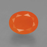 thumb image of 2.8ct Oval Facet Orange Fire Opal (ID: 405614)