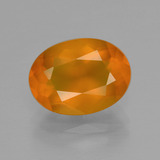 thumb image of 2.5ct Oval Facet Yellow Orange Fire Opal (ID: 407354)