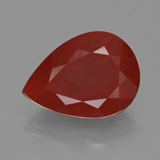 thumb image of 8ct Pear Facet Orange Red Fire Opal (ID: 409392)