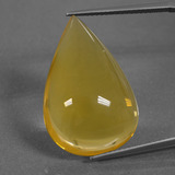 thumb image of 16.7ct Pear Cabochon Yellow Orange Fire Opal (ID: 422638)