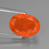 thumb image of 1.4ct Oval Facet Orange Fire Opal (ID: 431149)