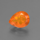 thumb image of 1.5ct Pear Facet Orange Fire Opal (ID: 431266)