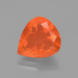 thumb image of 2.5ct Pear Facet Orange Fire Opal (ID: 431609)