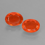 thumb image of 1.2ct Oval Facet Orange Fire Opal (ID: 431902)