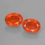 thumb image of 1.2ct Oval Facet Orange Fire Opal (ID: 431903)