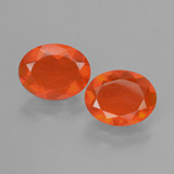 thumb image of 1.8ct Oval Facet Orange Fire Opal (ID: 431904)