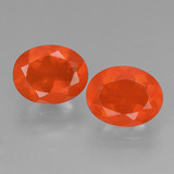 thumb image of 2.2ct Oval Facet Orange Fire Opal (ID: 431968)