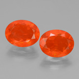 thumb image of 1.9ct Oval Facet Orange Fire Opal (ID: 431978)