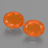 thumb image of 2.3ct Oval Facet Orange Fire Opal (ID: 432034)