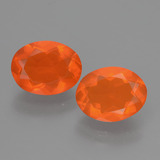 thumb image of 1.4ct Oval Facet Orange Fire Opal (ID: 432036)