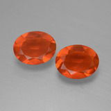 thumb image of 1.1ct Oval Facet Orange Fire Opal (ID: 432090)