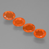 thumb image of 1.9ct Oval Facet Orange Fire Opal (ID: 432294)