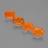 thumb image of 1.9ct Oval Facet Orange Fire Opal (ID: 432298)