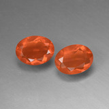 thumb image of 1.4ct Oval Facet Orange Fire Opal (ID: 449566)