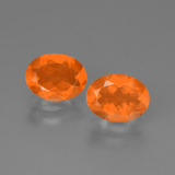 thumb image of 1.8ct Oval Facet Orange Fire Opal (ID: 449570)