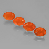 thumb image of 2.1ct Oval Facet Orange Fire Opal (ID: 449578)