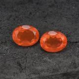 thumb image of 2.5ct Oval Facet Orange Fire Opal (ID: 450404)