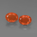 thumb image of 1.4ct Oval Facet Orange Fire Opal (ID: 450466)