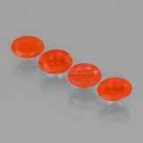 thumb image of 1.5ct Oval Facet Orange Fire Opal (ID: 450696)