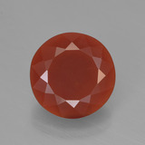 thumb image of 2.6ct Round Facet Orange Red Fire Opal (ID: 450834)