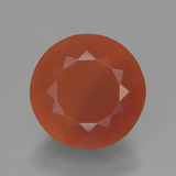 thumb image of 2.7ct Round Facet Orange Fire Opal (ID: 450835)