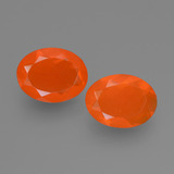 thumb image of 1.2ct Oval Facet Orange Fire Opal (ID: 453906)