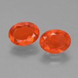 thumb image of 1.4ct Oval Facet Orange Fire Opal (ID: 453971)