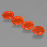 thumb image of 2.3ct Oval Facet Orange Fire Opal (ID: 454026)